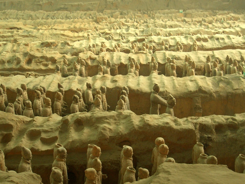Xi'an Terra Cotta Warriors - Xi'an, China