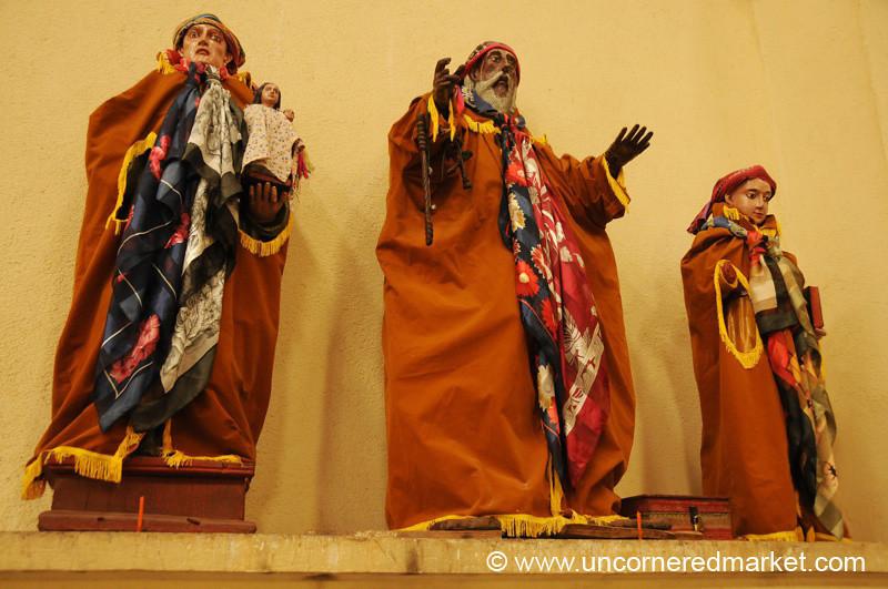 Church Statues - Santiago La Laguna, Guatemala