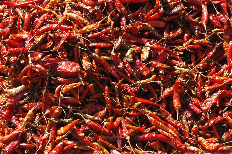 Dried Chillies - Luang Prabang, Laos