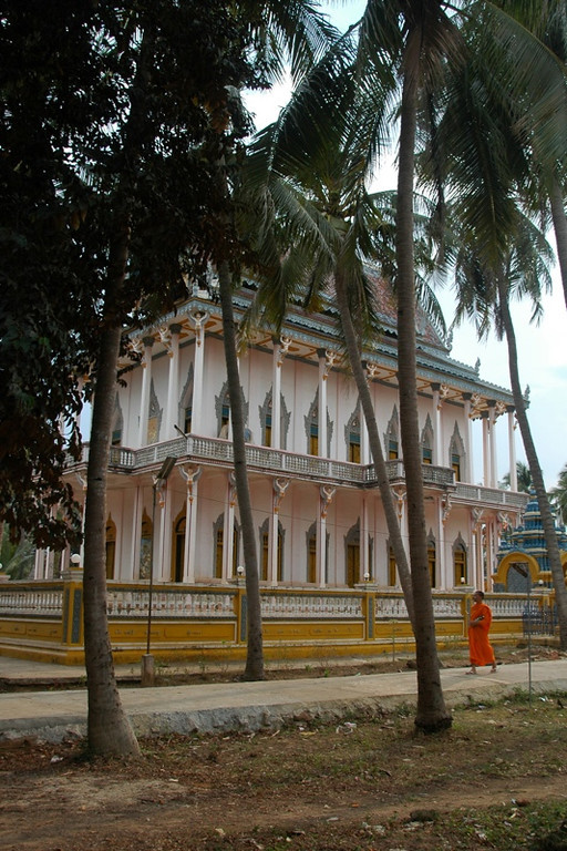Monk at the Temple - Battambang, Cambodia