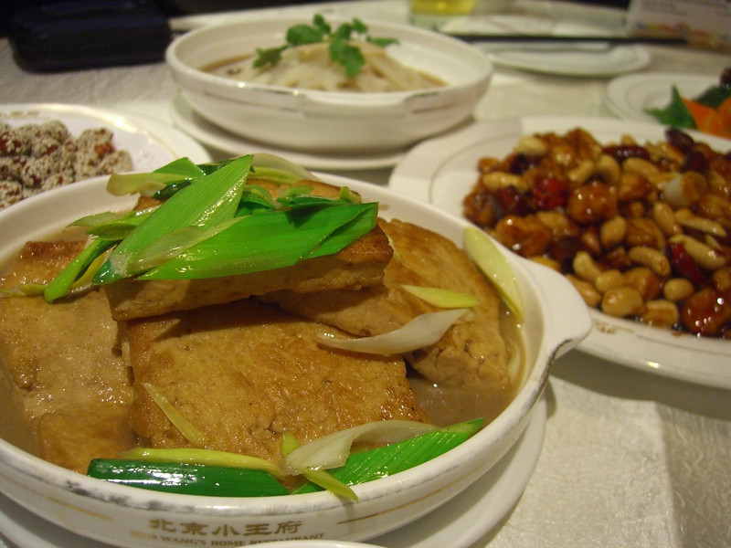 Chinese Meal at Xiao Wang's - Beijing, China