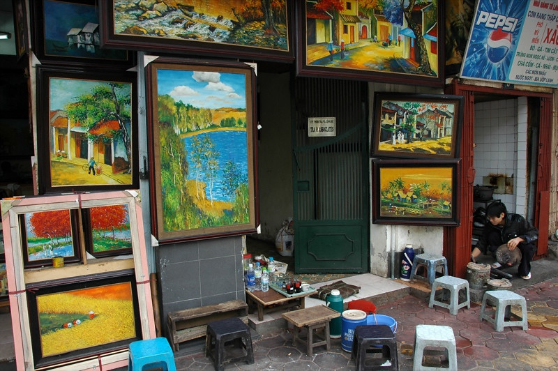 Paintings - Hanoi, Vietnam