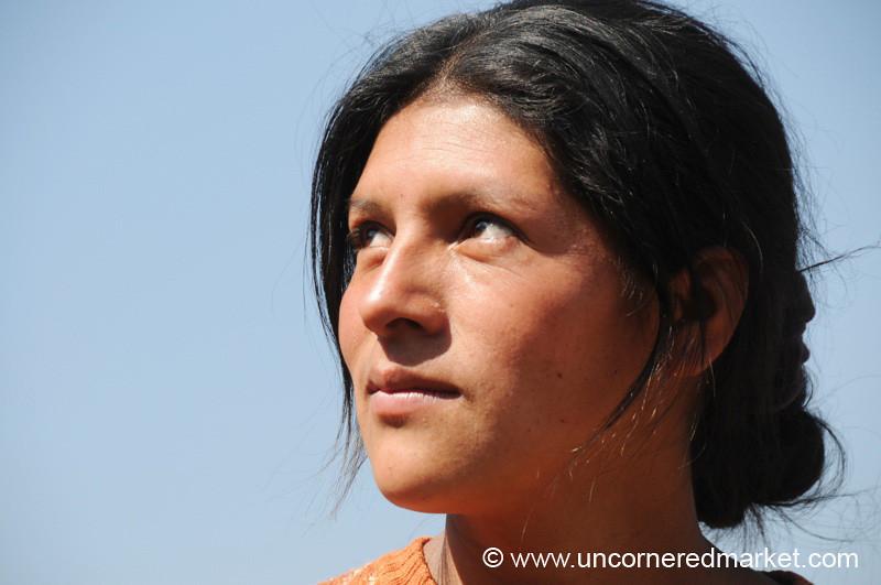 Guatemalan Woman Portrait - Totonicapan, Guatemala
