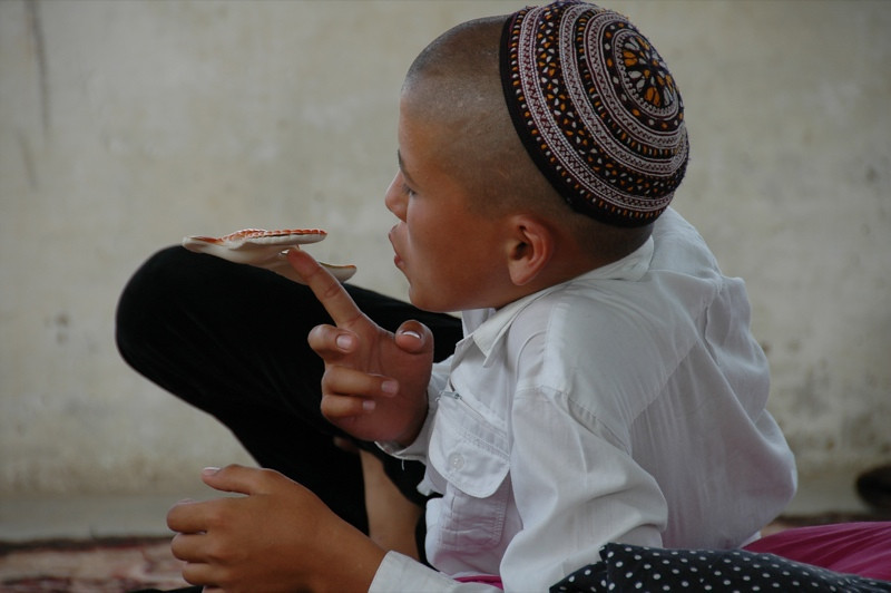 Boy with Muslim Hat - Paraw Bibi, Turkmenistan