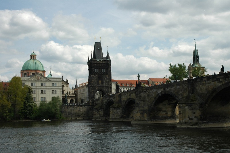 Charles Bridge and Old Town - Prague, Czech Republic