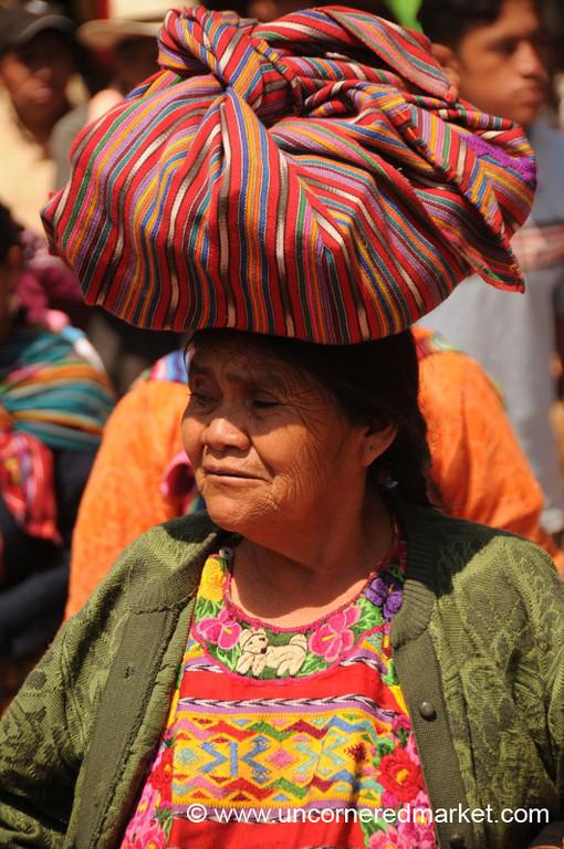 Indigenous Woman - Totonicapan, Guatemala