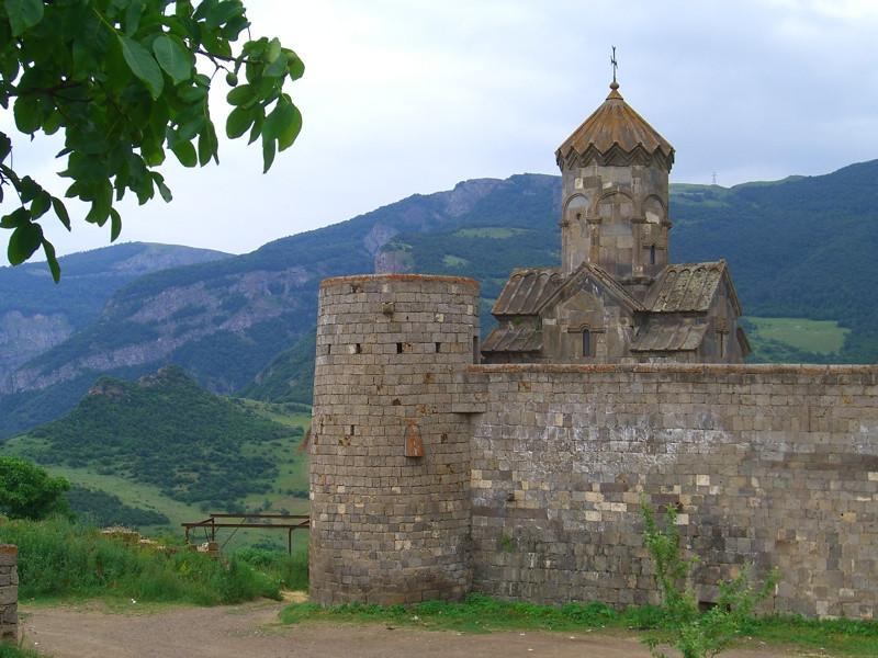 Tatev Monastery on the Hills - Armenia