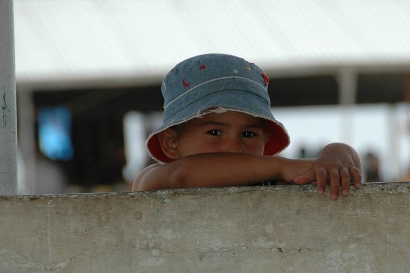 Kid on the Wall - Paraw Bibi, Turkmenistan