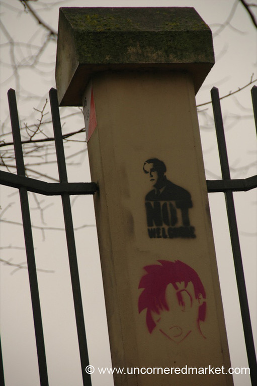 Bush Graffiti - Riga, Latvia