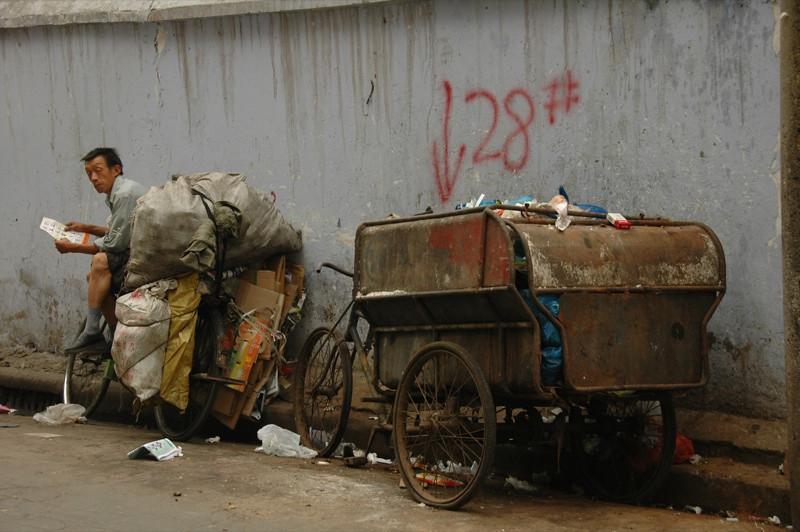 Junk Man - Chengdu, China