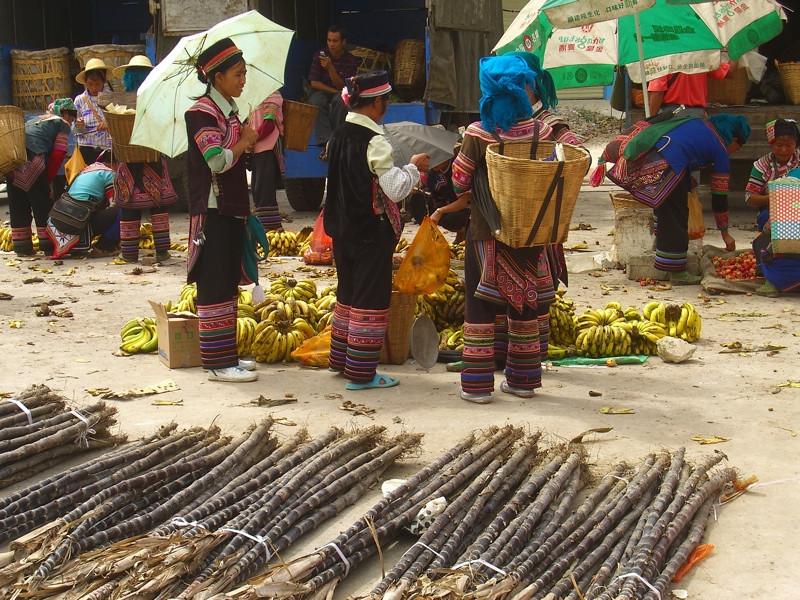 Hani Weekly Market - Yuanyang, China