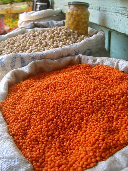 Dried Lentils and Beans - Baku, Azerbaijan