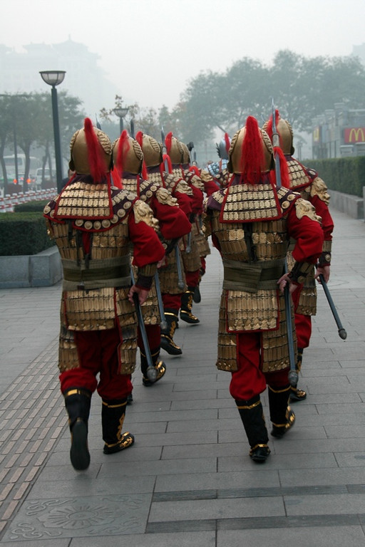 Marching Soldiers - Xi'an, China