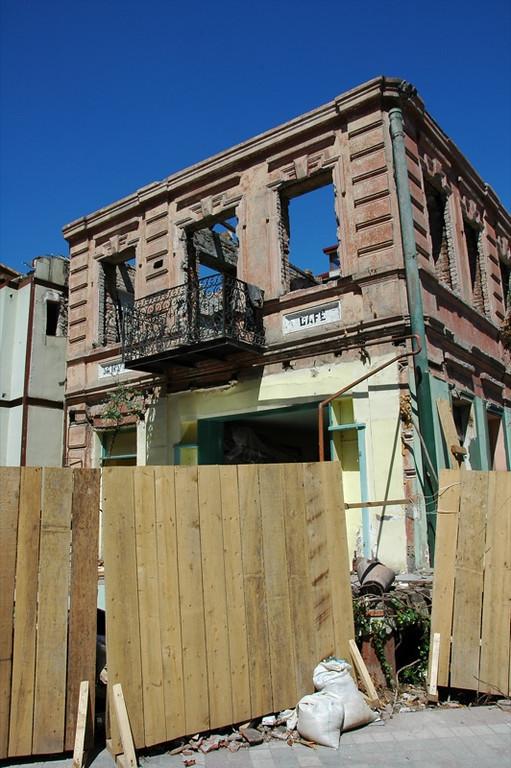 Wrecked Building - Tbilisi, Georgia