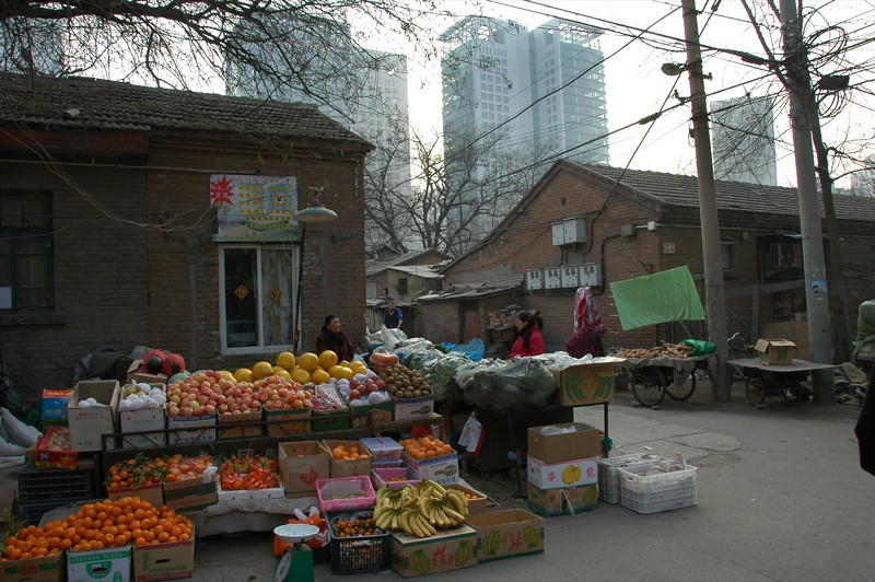 Street Vegetable Stand - Beijing, China