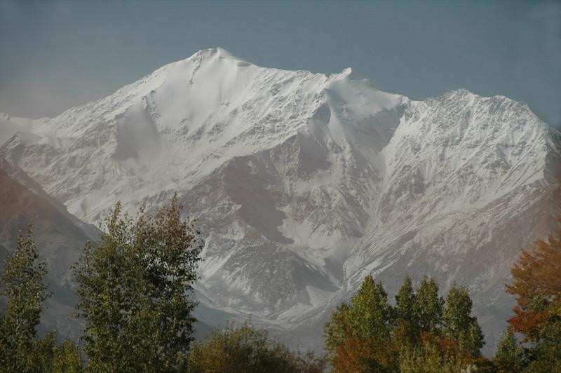 Fresh Snow on Mountains - Pamir Mountains, Tajikistan