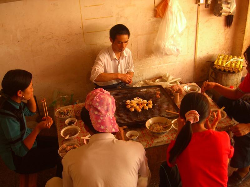 Yuanyang Street Food Lunch - Yunnan, China