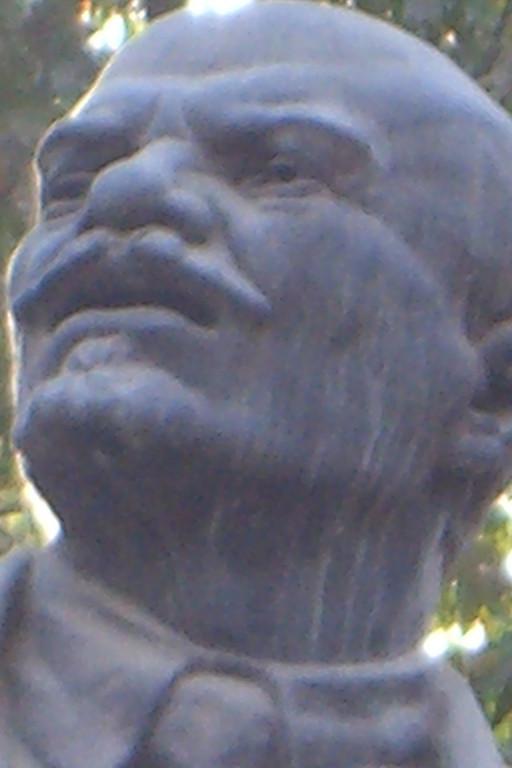 Bust of Lenin in Dushanbe, Tajikistan