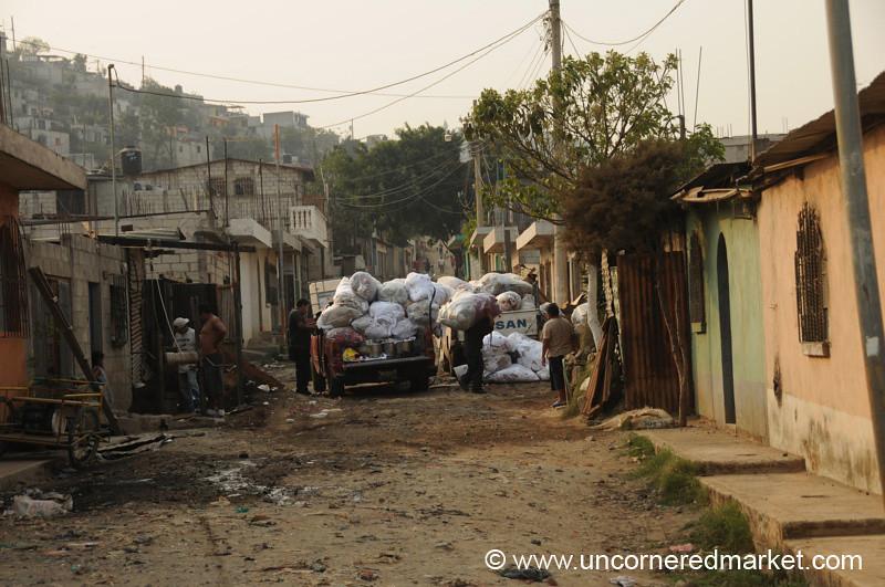 Typical Street in Villa Nueva - Villa Nueva, Guatemala