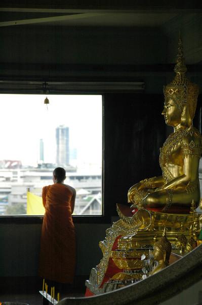 Buddhist Monk - Bangkok, Thailand