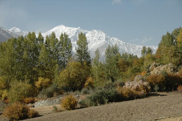 Snow-Covered Mountains - Pamir Mountains, Tajikistan