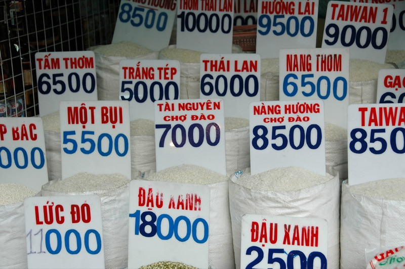 Rice Choices - Ho Chi Minh City, Vietnam