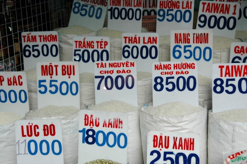 Rice Choices - Ho Chi Minh City, Vietnam