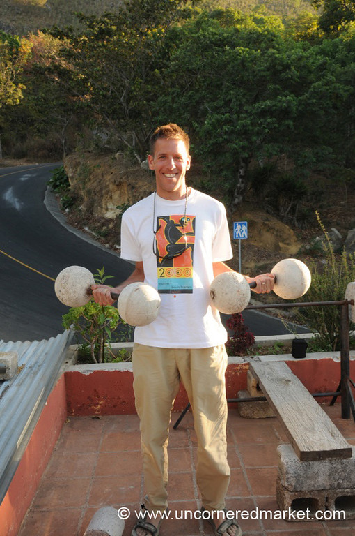Dan Lifs Weights - San Pedro Volcano, Guatemala