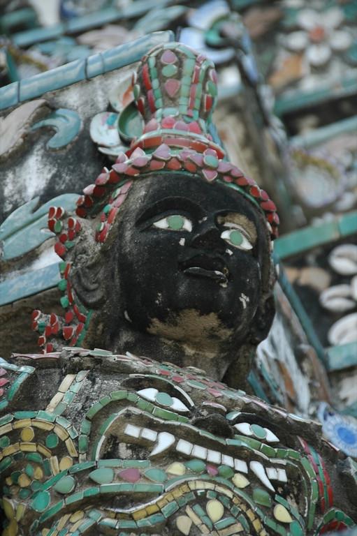 Buddhist Statue at What Arun - Bangkok, Thailand