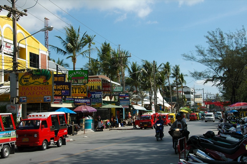 Beach Road - Phuket, Thailand