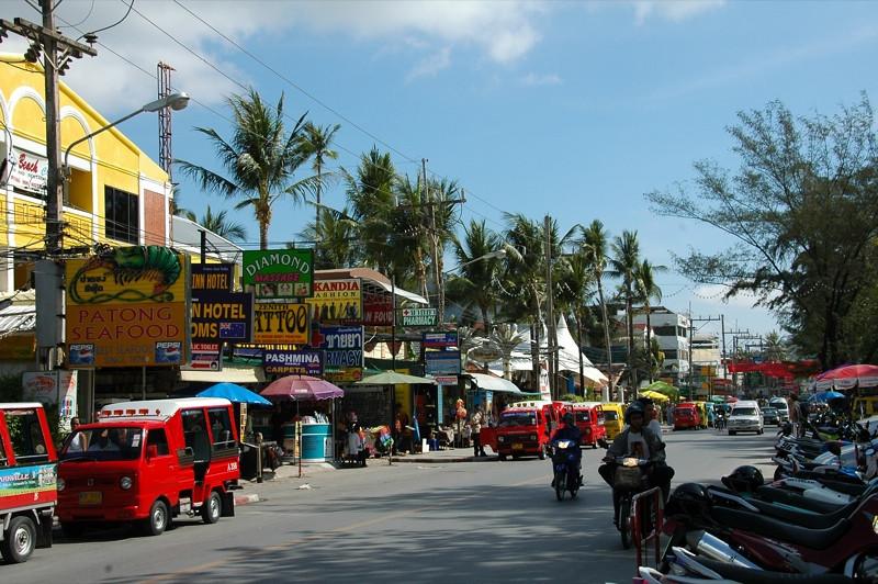 Beach Road - Phuket, Thailand
