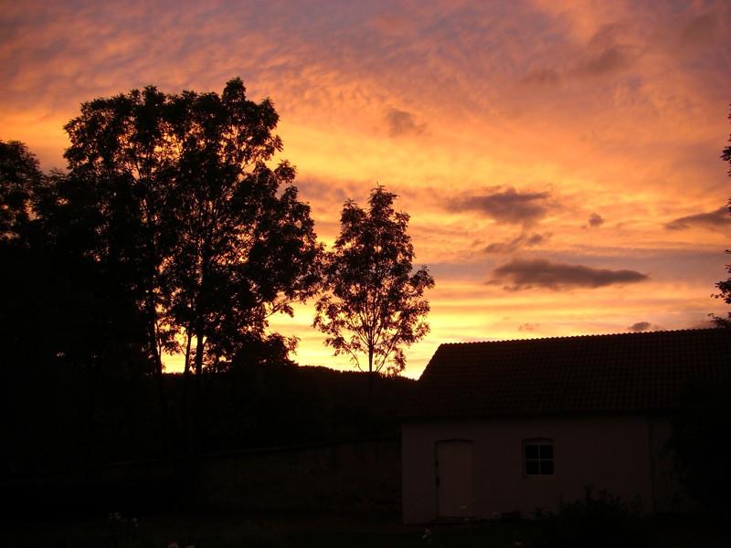 Sunset in the Czech Countryside - Bohemia, Czech Republic