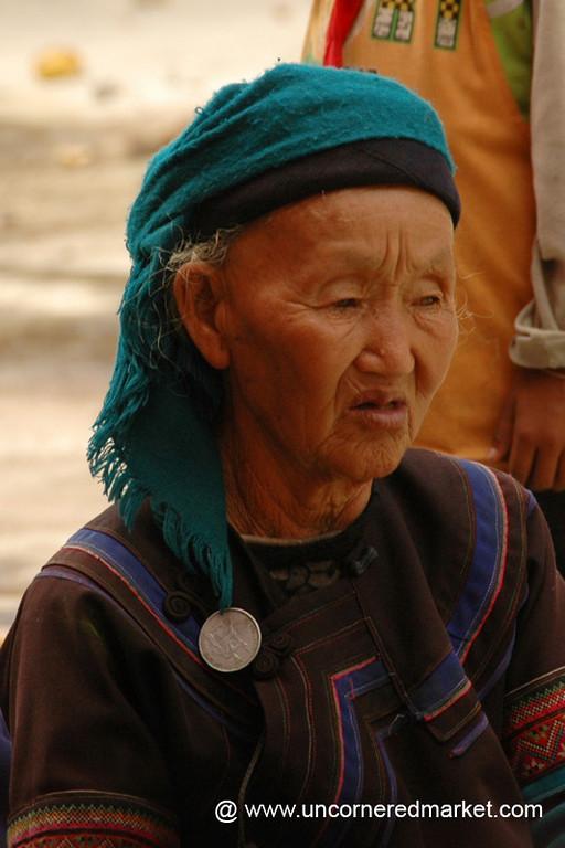 Old Hani Woman - Yuanyang, China