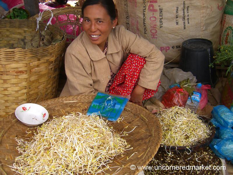 Bean Sprouts - Inle Lake, Burma