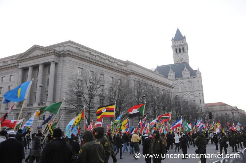 Flags - Washington DC, USA