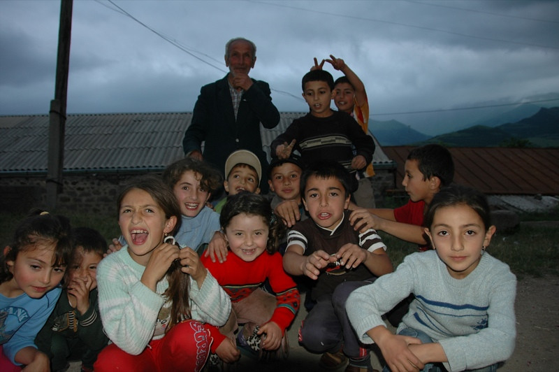 Young Villagers of Tatev - Tatev, Armenia