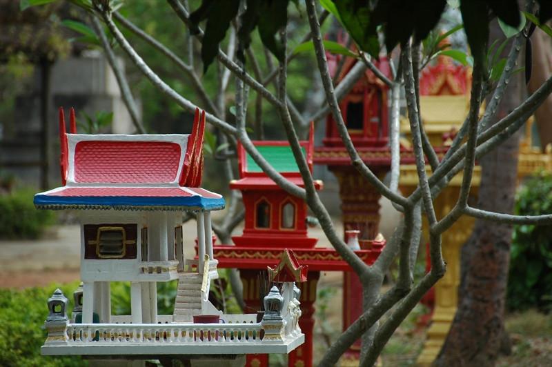 Spirit Houses - Battambang, Cambodia
