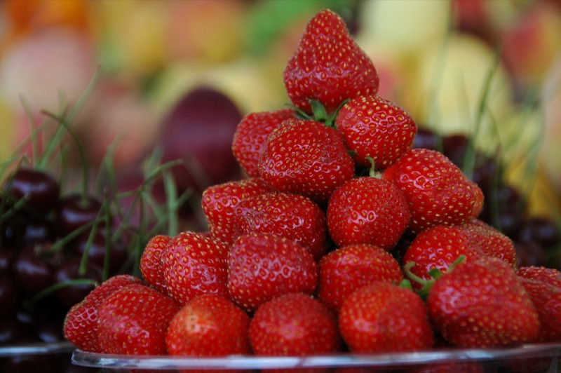 Sweet Strawberries - Baku, Azerbaijan
