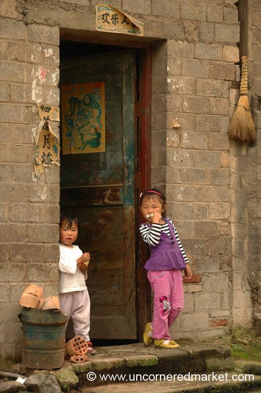 Chinese Kids - Guizhou Province, China