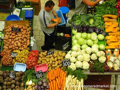 Vegetables at the Lehel Market - Budapest, Hungary
