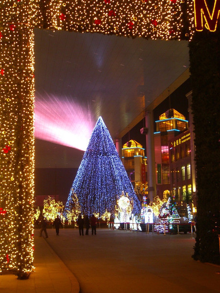 Christmas Lights and Decorations - Beijing, China