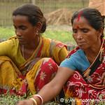 Rural Indian Village, Microfinance - West Bengal, India