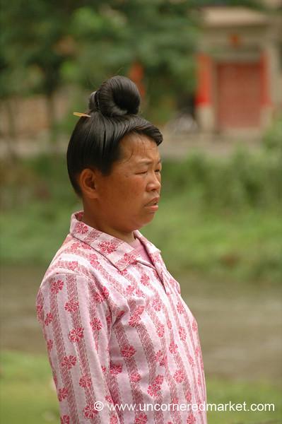 Miao Woman - Guizhou Province, China