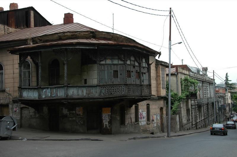 Sololaki Balcony - Tbilisi, Georgia