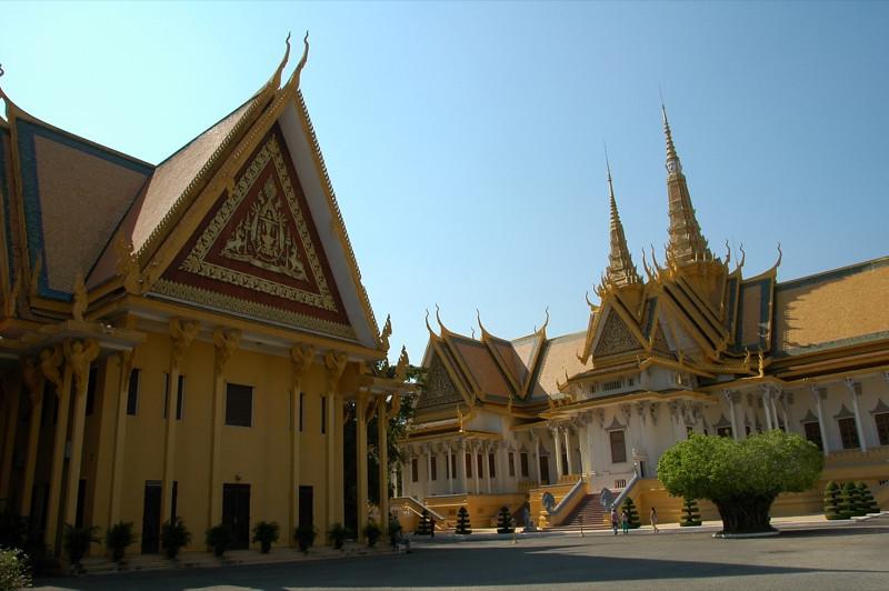 Royal Palace Compound - Phnom Penh, Cambodia