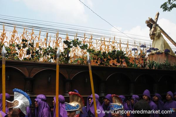 Semana Santa Floats - Antigua, Guatemala