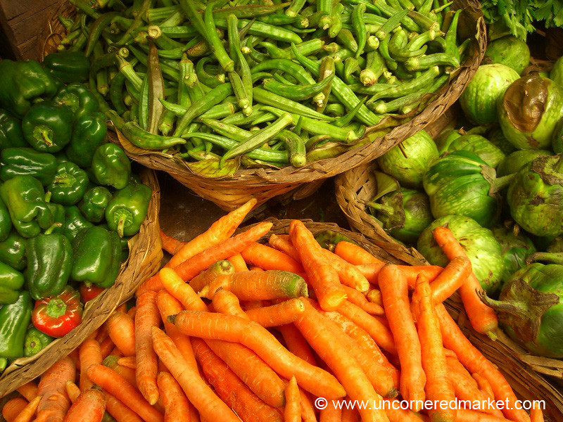 Burmese Vegetables - Kalaw, Burma