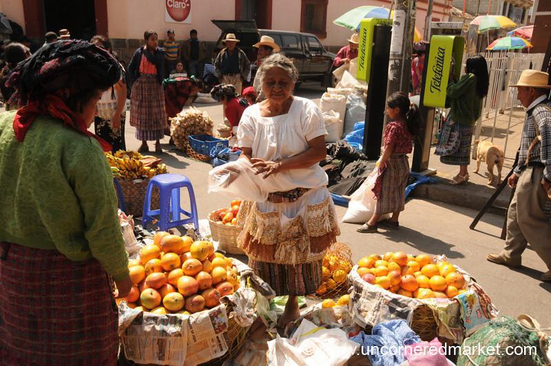 Totonicapan Market Day, Guatemala