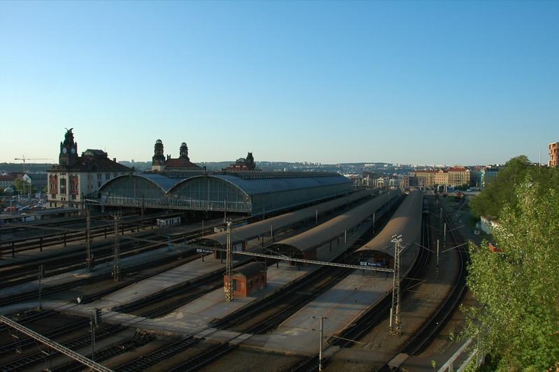 Main Train Station - Prague, Czech Republic