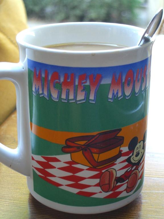 Chinglish Mickey Mouse - Bishkek, Kyrgyzstan